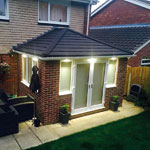 conservatory roof external lighting
