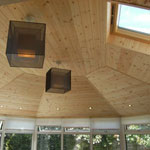 internal conservatory roof wood finish ceiling
