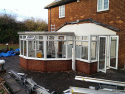 replacement conservatory roof installation tonbridge kent 2