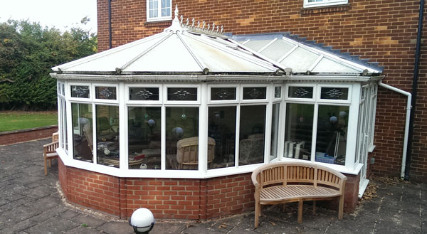 replacement conservatory roof installation - Tonbridge, Kent