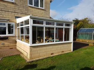 Replacement Conservatory Roof Installation - Chippenham - Before