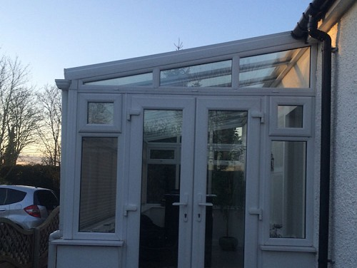 02 Replacement Conservatory Roof Essex Before