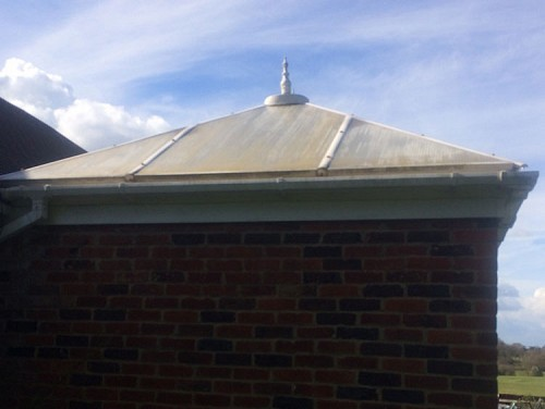 02a replacement conservatory roof west sussex before