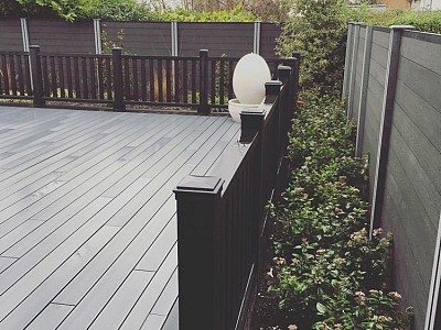 Composite wood decking010