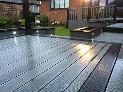 Composite wood decking021