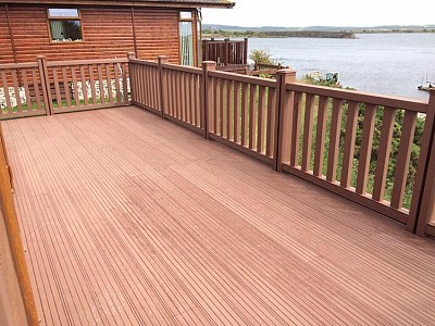 Composite wood decking034