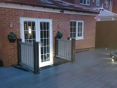 Composite wood decking040