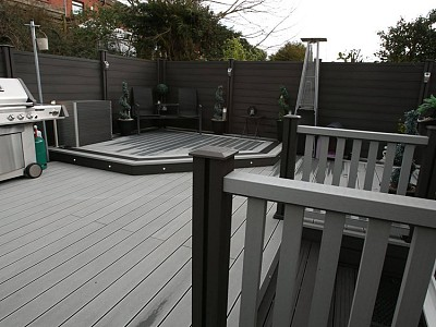 Composite wood decking054