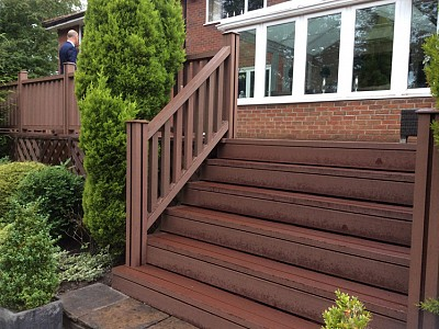 Composite wood decking068