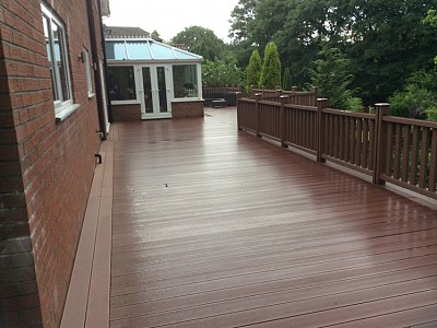Composite wood decking070