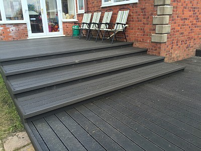 Composite wood decking081
