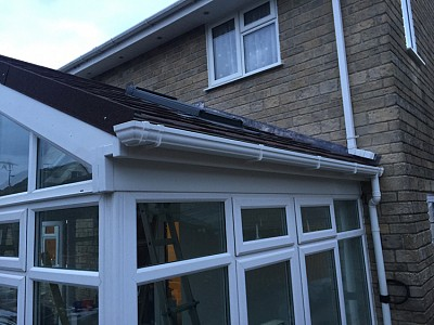 Replacement gable end conservatory roof dorset 3
