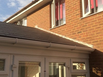 Replacement gable end conservatory roof dorset 4