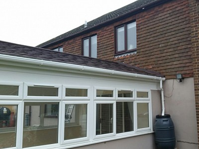 Replacement gable end conservatory roof dorset 6