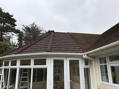 Replacement tiled victorian roof 1